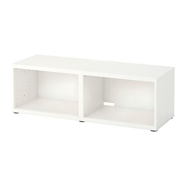 Ikea Grundtal Gewürzregal Edelstahl ~ TV Bank der Besta Serie von Ikea in weiß mit original Verpackung