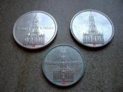 15 Münzen silber