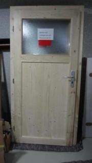 1x Massivholztür aus