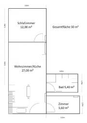 2,5 Zimmer