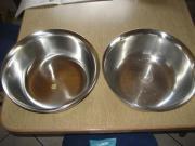 2 Edelstahlschüssel, Küchenschüssel,