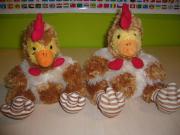 2 Hennen Hühner