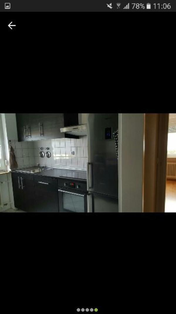 2 k chenzeile mit elektroger ten in ludwigshafen k chenm bel schr nke kaufen und verkaufen. Black Bedroom Furniture Sets. Home Design Ideas