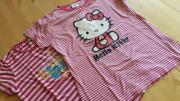 2 rosagestreifte Shirts/