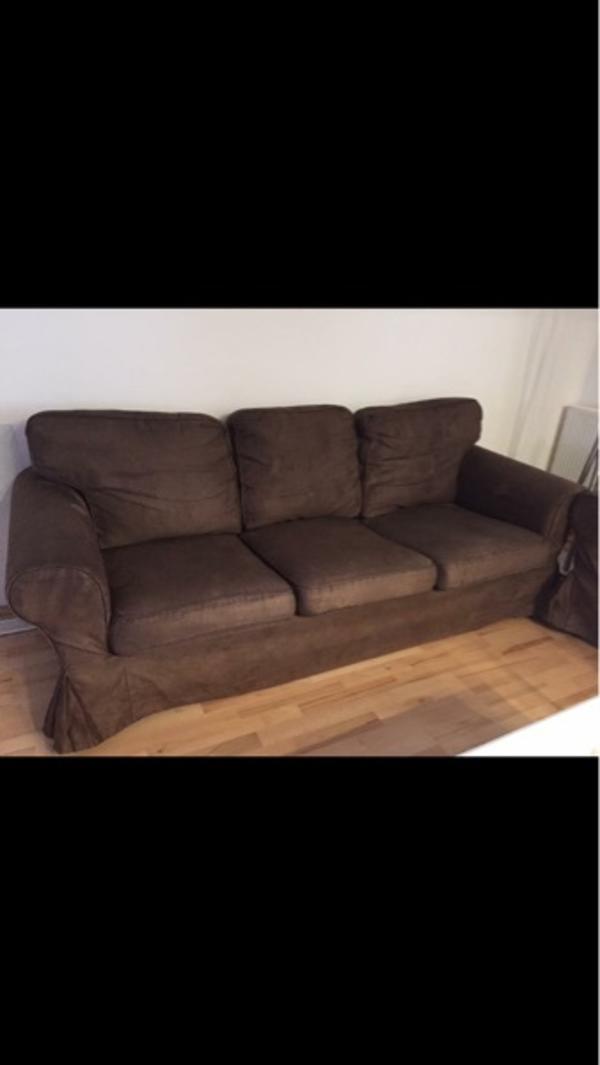 ektorp bezug gebraucht kaufen nur noch 2 st bis 70. Black Bedroom Furniture Sets. Home Design Ideas