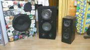 3 Musikboxen & 1