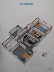 3-Zimmer Souterrain-