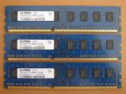 3x 2GB RAM