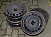 4 Stahlfelgen Fiat