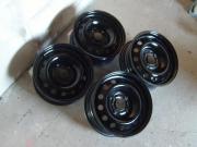 4 Stahlfelgen Michelin