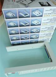 5x Einbaurahmen Festplatten
