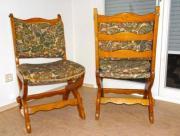 6 rustikale Stühle
