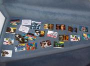 63 volle Telefonkarten,