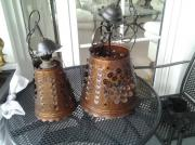 7 Handgeschmiedete Kupferlampen