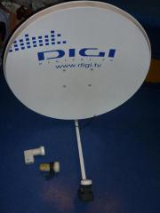 80-er Satellitenschüssel