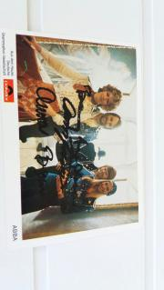 ABBA Autogrammkarte