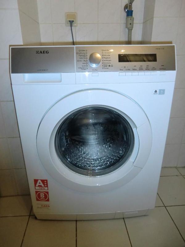 aeg l76485fl waschmaschine wei mit protex schontrommel 8kg 1400rpm a in ludwigshafen. Black Bedroom Furniture Sets. Home Design Ideas