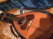 alte Mandoline von