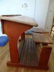 alte schulbank haushalt m bel gebraucht und neu kaufen. Black Bedroom Furniture Sets. Home Design Ideas