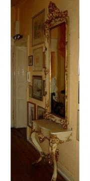 alte Spiegelkonsole um