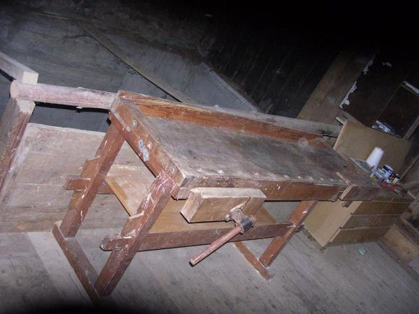 werktisch kaufen gebraucht und g nstig. Black Bedroom Furniture Sets. Home Design Ideas