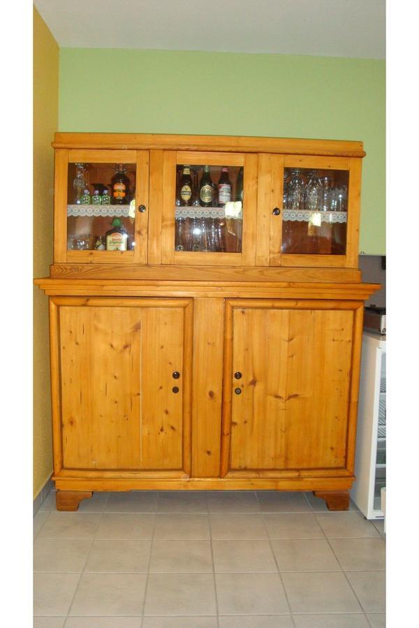 alter antiker k chenschrank aus massivholz in koblenz k chenm bel schr nke kaufen und. Black Bedroom Furniture Sets. Home Design Ideas