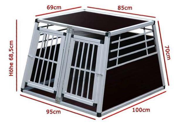 alu hundebox in geislingen zubeh r f r haustiere kaufen. Black Bedroom Furniture Sets. Home Design Ideas