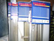 Aluminium-Jalousie silber
