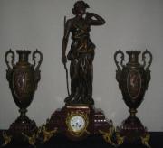 Antike frz..Figurenpendule