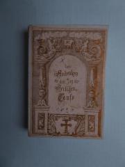 antike Taufkarte von
