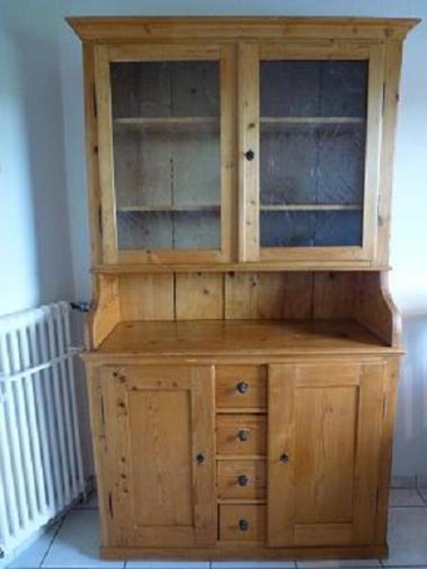 antiken k chenschrank. Black Bedroom Furniture Sets. Home Design Ideas