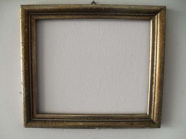 Bilderrahmen Holz Gebraucht ~ Der Rahmen hat die folgenden Maße außen B 41,5 x B 36 cm; Maße