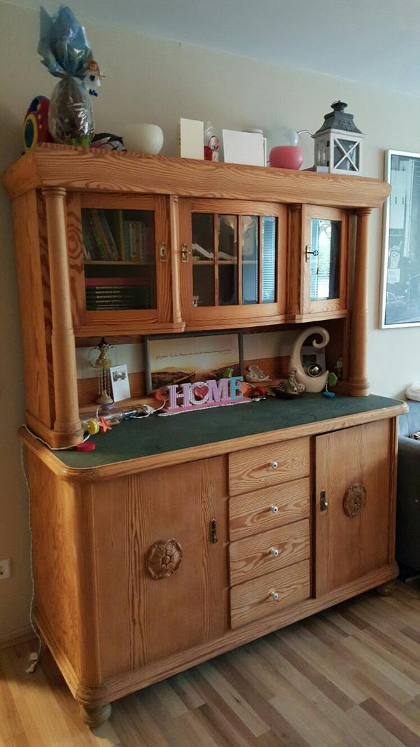 antiker k chenschrank in witten schr nke antiquarisch kaufen und verkaufen ber private. Black Bedroom Furniture Sets. Home Design Ideas