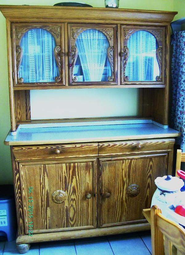 Antiker k chenschrank kaufen und verkaufen antike m bel - Antike kuchenmobel ...
