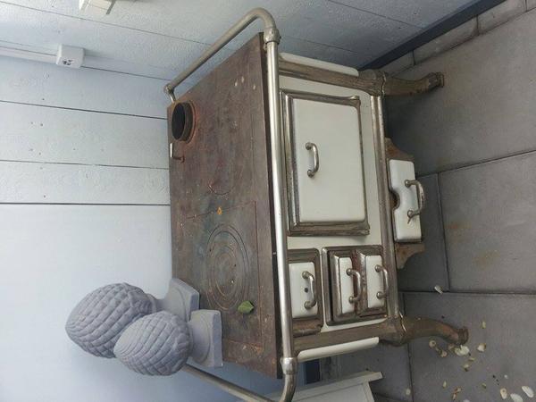 antiker ofen von k ppersbusch. Black Bedroom Furniture Sets. Home Design Ideas