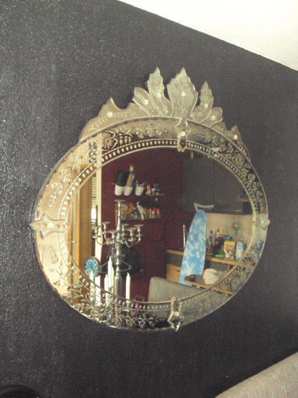 antiker spiegel barock zeit zustand einzigartig. Black Bedroom Furniture Sets. Home Design Ideas