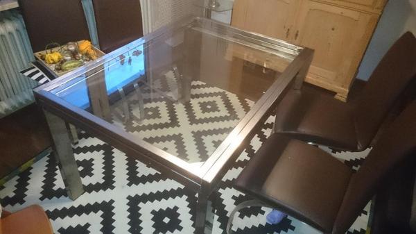 ausziehbarer glastisch kleinanzeigen sonstige. Black Bedroom Furniture Sets. Home Design Ideas
