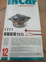 Auto Lautsprecher - Set