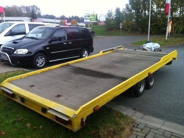 autotransport autotrailer wohnwagen in oberkotzau. Black Bedroom Furniture Sets. Home Design Ideas