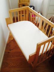 beistellbett wiegen babybetten reisebetten in stuttgart gebraucht kaufen oder kostenlos. Black Bedroom Furniture Sets. Home Design Ideas