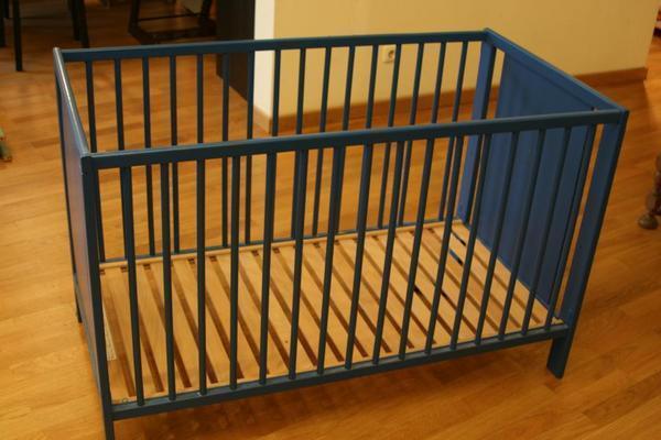 babybett beistellbett in mannheim wiegen babybetten. Black Bedroom Furniture Sets. Home Design Ideas