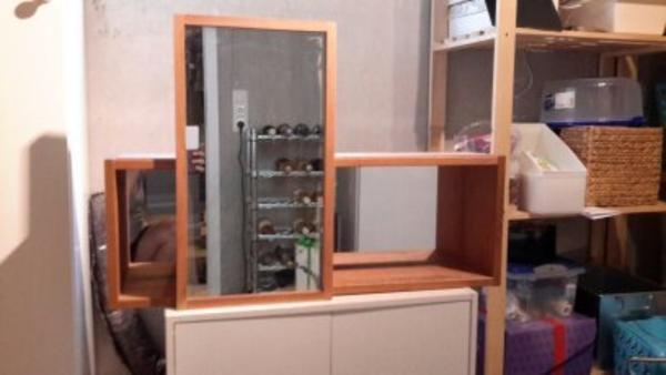 bad garnitur ikea molger spiegelschrank ablagen. Black Bedroom Furniture Sets. Home Design Ideas