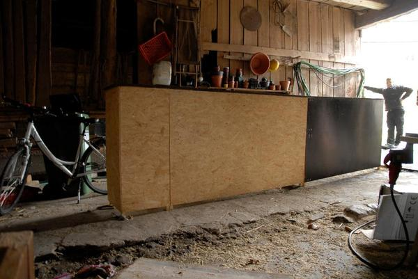 bar theke eigenbau in wolframs eschenbach gastronomie. Black Bedroom Furniture Sets. Home Design Ideas