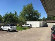 Baucontainer ausgebaut mit