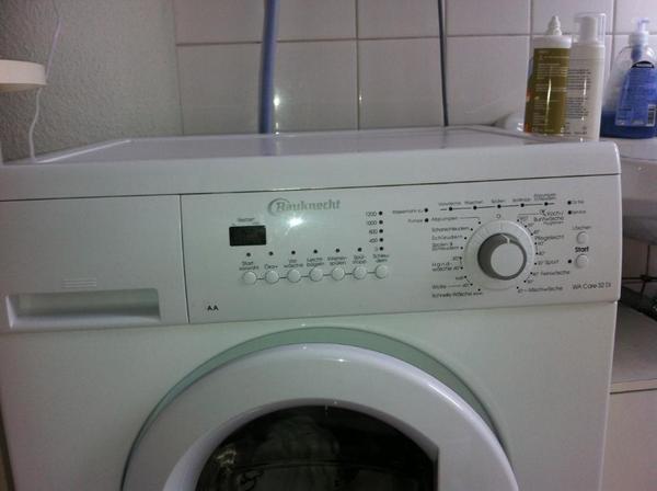 bauknecht wa care 32 di waschmaschine aa wie neu mit. Black Bedroom Furniture Sets. Home Design Ideas