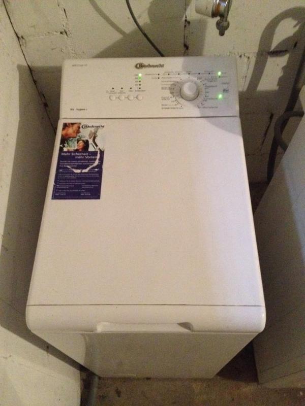 bauknecht waschmaschine wat care 10 defekt in karlsruhe waschmaschinen kaufen und verkaufen. Black Bedroom Furniture Sets. Home Design Ideas