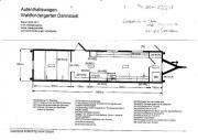 Bauwagen mit Innenausbau (