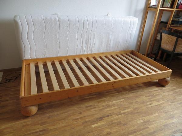 bett 90 x 200 inkl lattenrost und matratze in m nchen betten kaufen und verkaufen ber. Black Bedroom Furniture Sets. Home Design Ideas