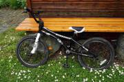 BMX-Rad, schwarz-