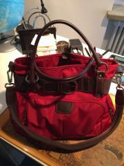 Bogner Handtasche rot